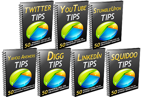 350 Marketing Tips Ebook covers